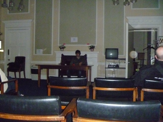 Shire Hall ghost hunt - Click to enlarge