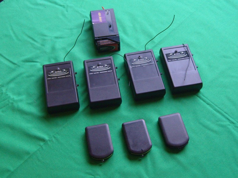 Ion / Static Meters